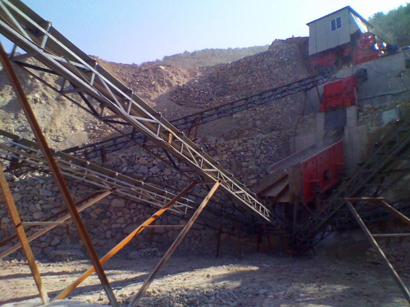 石子加工生产线